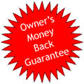 Owner's Money Back Guarantee